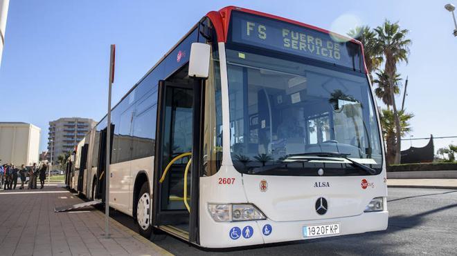 La línea 7 de Surbus estrena nuevo recorrido