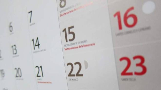 Lunes 20 de Marzo: ¿En qué Comunidades es festivo y hay puente?
