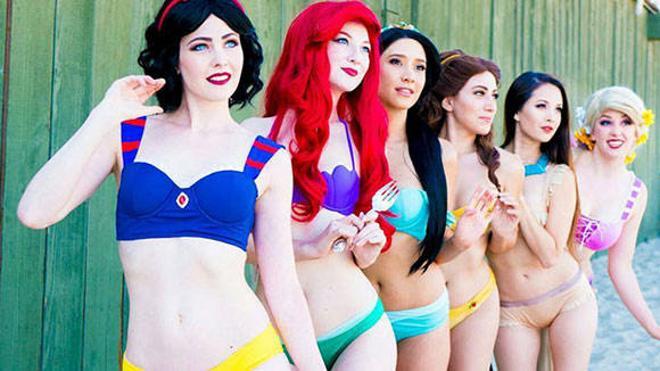 Ya están aquí los bikinis de las princesas Disney