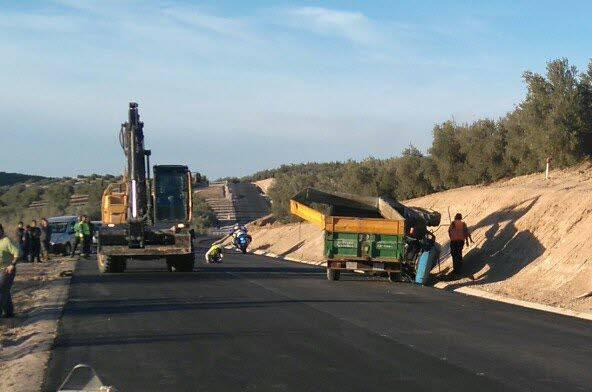 Cortes intermitentes en carreteras de Almería