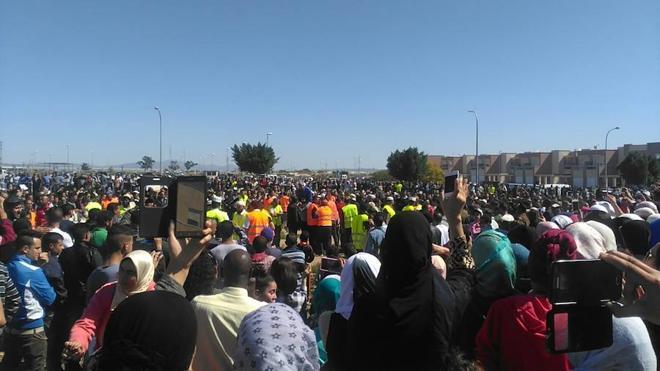 Cientos de personas se manifiestan en San Isidro para exigir justicia