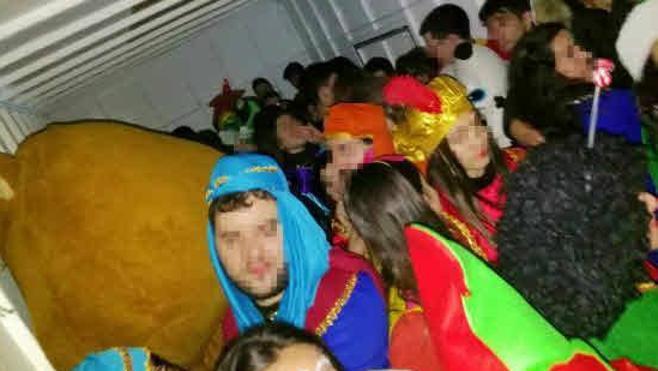 El transporte del personal de la cabalgata de Reyes no es municipal