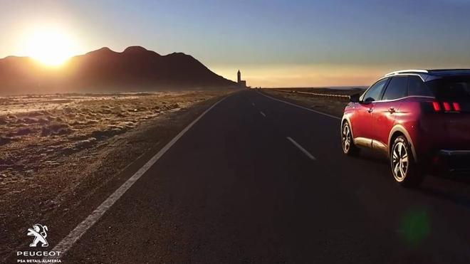 Cabo de Gata luce a través del nuevo Peugeot 3008