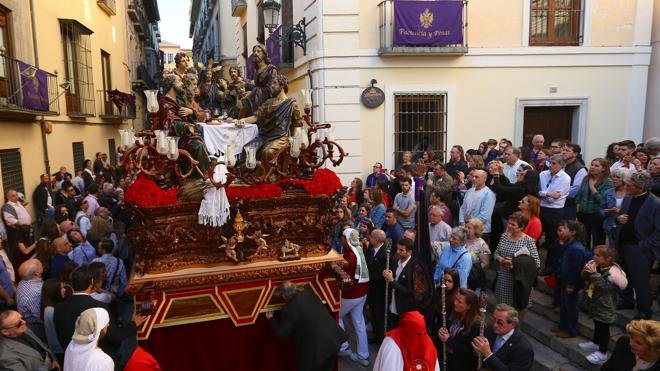 La Santa Cena se celebra en el Realejo