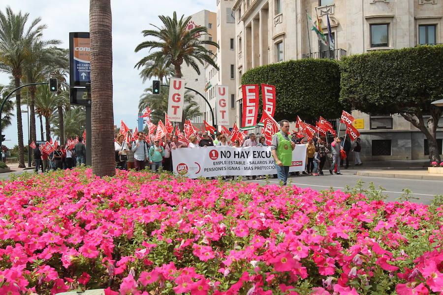 """El Primero de Mayo pide que """"se gobierne para las personas y no para las empresas"""""""