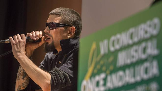 El rapero almeriense Raúl Martínez gana el VI Concurso Musical ONCE Andalucía