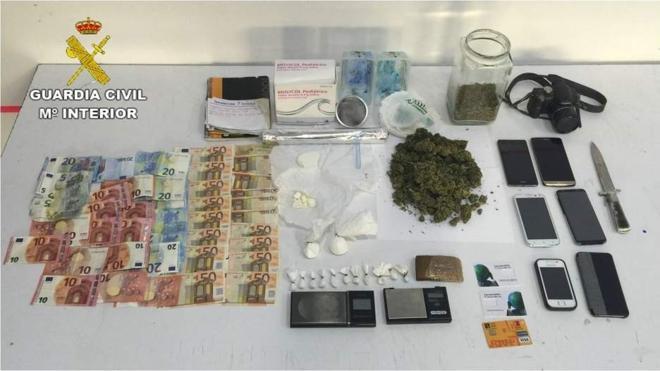 6 vendedores de cocaína mezclaban la droga con el polvo de papillas de sus hijos