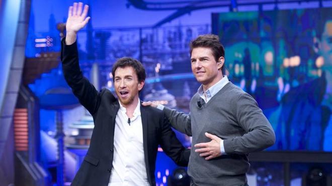 Tom Cruise visita 'El Hormiguero' para presentar su última película