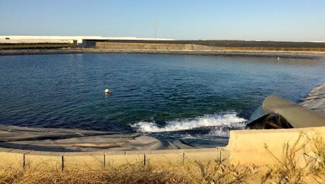 Llega al Bajo Andarax agua de la desaladora de Carboneras para el riego de hortícolas