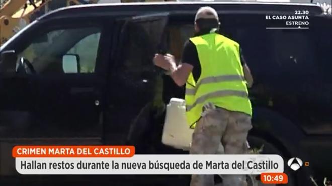 Analizan unos huesos encontrados en el lugar donde buscan a Marta del Castillo