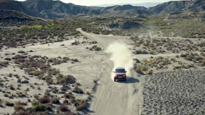 Land Rover también rueda en Almería