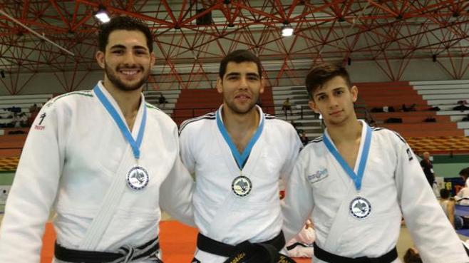 Un oro y dos platas permiten el pleno jienense en la Copa de España de Judo