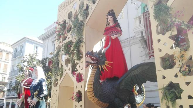La Tarasca deleita a Granada